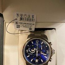 Certina DS Podium Big Size Titanio 42mm Azul Arábigos