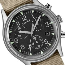 Timex Aluminum 40mm Quartz TW2T10700 new