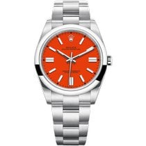 Rolex Oyster Perpetual Steel 41mm Red No numerals United Kingdom, London