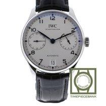 IWC Portuguese Automatic nuevo Automático Reloj con estuche y documentos originales IW500705