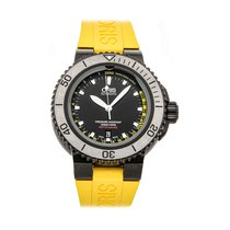 Oris Aquis Depth Gauge Steel 46mm Black No numerals United States of America, Pennsylvania, Bala Cynwyd
