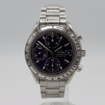 Omega Speedmaster Date Steel 39mm Black No numerals United States of America, California, Santa Monica