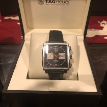 TAG Heuer Monaco Calibre 12 Steel 39mm Black No numerals United States of America, Florida, Tampa
