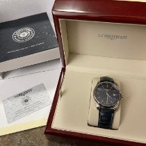 Longines Master Collection Steel 42mm Blue No numerals