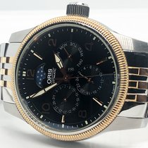 Oris Big Crown Complication Acier 40mm Noir