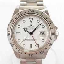 롤렉스 익스플로러 II 스틸 40mm 흰색 숫자없음