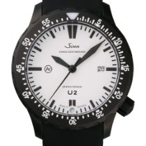 Sinn U2 Steel 44mm White