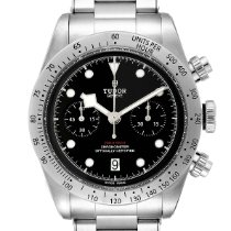 Tudor 79350 Staal 2019 Black Bay Chrono 41mm tweedehands