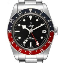 Tudor Acier Remontage automatique Noir 41mm occasion Black Bay GMT