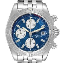 Breitling Chronomat Evolution Steel 43.7mm Blue United States of America, Georgia, Atlanta