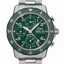 Sinn 103 Steel 41mm Green Arabic numerals