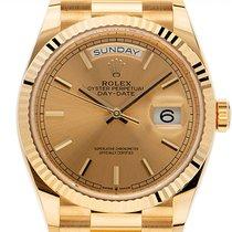 Rolex 128238 Geelgoud 2020 Day-Date 36 36mm nieuw