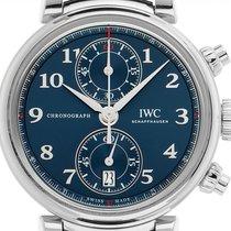 IWC Da Vinci Chronograph Stahl 42mm Blau Deutschland, Stuttgart
