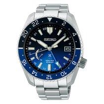 Seiko Prospex Titanium 44.8mm Blue No numerals