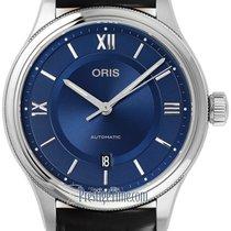 Oris Classic Steel 42mm Blue United States of America, New York, Airmont