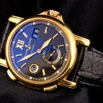 Ulysse Nardin Dual Time Rose gold 42mm Black