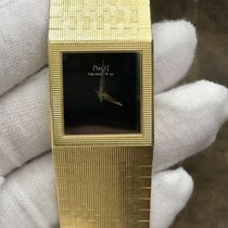 Piaget Yellow gold Quartz Black 22mm pre-owned Polo