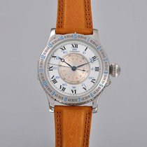 Longines Lindbergh Hour Angle Steel 47mm White