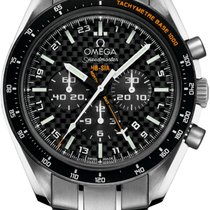 Omega Titanium Automatic Black 44mm new Speedmaster HB-SIA