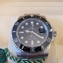 Rolex Submariner Date Steel Black No numerals