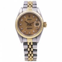 Rolex Lady-Datejust Or/Acier 26mm Or Sans chiffres France, GRENOBLE