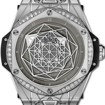 Hublot Big Bang Sang Bleu Acero 39mm Gris