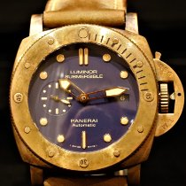 Panerai Special Editions Bronze 47mm Blue No numerals