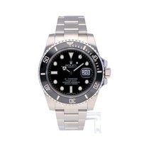 Rolex Negro Sin cifras usados Submariner Date