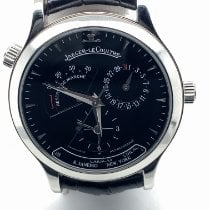 Jaeger-LeCoultre Master Geographic Acero 39mm Negro Sin cifras
