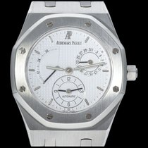 Audemars Piguet Royal Oak Dual Time occasion 36mm Blanc Date Acier