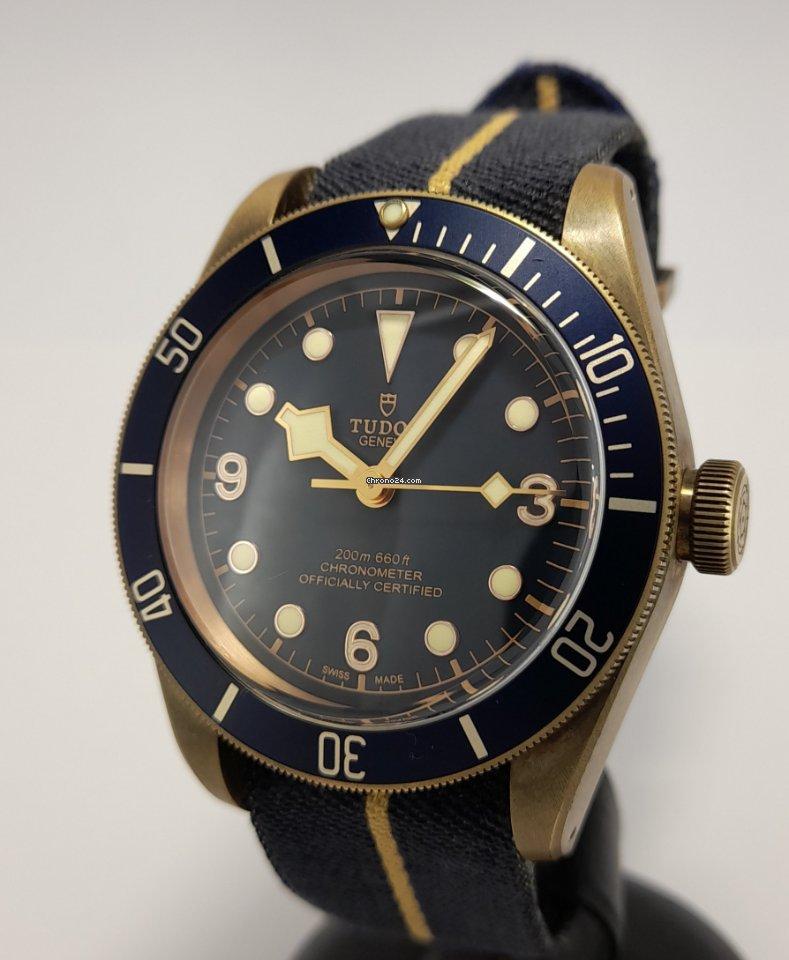 Tudor Black Bay Bronze 79250BB-0001 2018 pre-owned
