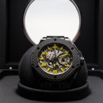 Hublot 401.CQ.0129.VR Cerámica 2015 Big Bang Ferrari 45mm nuevo