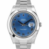 Rolex Datejust II Steel 41mm Blue Roman numerals United States of America, New York, Massapequa Park