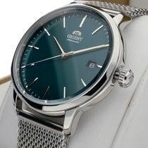 Orient Bambino Steel 40mm Green No numerals