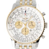Breitling Navitimer Cosmonaute Gold/Steel 41.5mm Silver