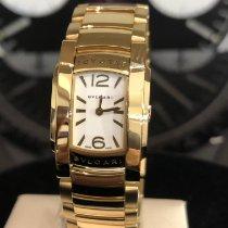 Bulgari Assioma Желтое золото 21mm Белый