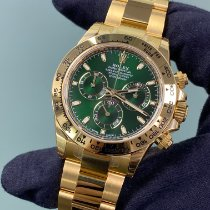 Rolex Daytona Yellow gold 40mm Green No numerals United States of America, New York, Manhattan