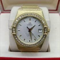 Omega Constellation Yellow gold 36mm Silver No numerals
