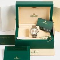 Rolex Oyster Perpetual 36 Acier 36mm Argent Sans chiffres