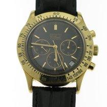 Zenith Oro amarillo Automático Negro Sin cifras 40mm usados El Primero Chronograph