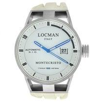 Locman Montecristo Titanium 44mm White United States of America, New York, New York