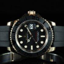 Rolex Yacht-Master 40 Or rose 40mm Noir Sans chiffres France, TOULOUSE