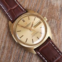 Omega Yellow gold Automatic Gold (solid) No numerals 35mm pre-owned Constellation