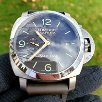 Panerai Luminor Marina 1950 3 Days Automatic Titanium 44mm Brown Arabic numerals United States of America, Michigan, Macomb