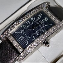 Cartier Tank Américaine neu 2004 Quarz Uhr mit Original-Box und Original-Papieren WB705131