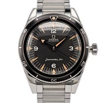 Omega Seamaster 300 pre-owned 39mm Black Steel