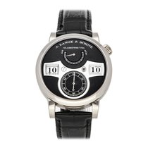 A. Lange & Söhne 140.029 White gold Zeitwerk 41.9mm pre-owned United States of America, Pennsylvania, Bala Cynwyd