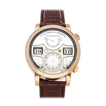 A. Lange & Söhne 145.032 Rose gold Zeitwerk 44.2mm pre-owned United States of America, Pennsylvania, Bala Cynwyd