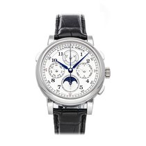 A. Lange & Söhne pre-owned Manual winding 41.9mm Silver 3 ATM