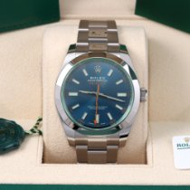 Rolex Milgauss Steel 40mm Blue No numerals United States of America, California, Los Angeles